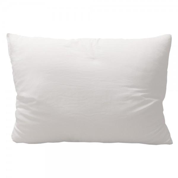 Boncuk Silikon Yastık Beyaz 50 x 70 cm