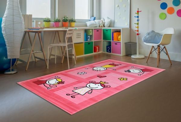 Sanat Halı Bambino Serisi Renkli